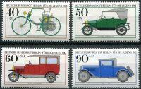 (1982) MiNr. 660 - 663 ** - Berlín - západní - historická vozidla