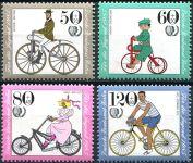 (1985) MiNr. 735 - 738 ** - Berlín - západní - jízdní kola