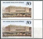 (1985) MiNr. 740 ** - sp - Berlín - západní - Berlínská burza cenných papírů