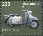 (2017) MiNr. 3342 ** - Rakousko - Motocykly (IX)