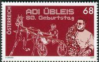 (2017) MiNr. 3367 ** - Rakousko - 80. narozeniny Adi Übleis