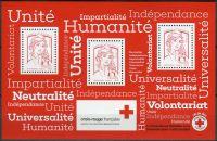 (2017) MiNr. 6336 ** - Francie - BLOCK 382 - červený kříž