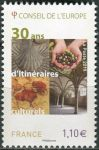 (2017) MiNr. 76 ** - Francie-Rada Evropy - 30 let kulturních tras Rady Evropy