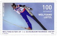 (2009) MiNr. 2831 ** - Rakousko - skokan na lyžích