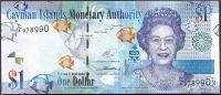 Kajmanské ostrovy (P 38d) - 1 Dollar (2014) - UNC