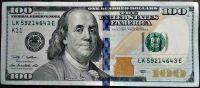 USA - P 543 - 100 dollars (K 11 - Dallas) 2013 série - UNC