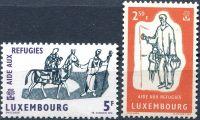 (1960) MiNr. 618 - 619 ** - Lucembursko - Světový rok uprchlíků 1959/60