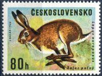 (1966) č. 1570 ** - ČSSR - II. typ - zajíc