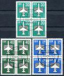 (1982) MiNr. 2751 - 2753 - O - DDR - 4-bl - letecké známky (I.)