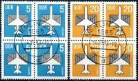 (1983) MiNr. 2831 - 2832 - O - DDR - 4-bl - letecké známky (II.)