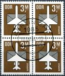 (1984) MiNr. 2868 - O - DDR - 4-bl - letecké známky (III.)