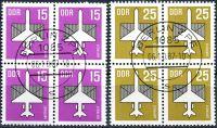 (1987) MiNr. 3128 - 3129 - O - DDR - 4-bl - letecké známky (V.)