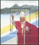 (1997) MiNr. 3655 ** - Polsko - BLOCK 130 - 5. Návštěva papeže Jana Pavla II. V Polsku