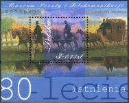(2001) MiNr. 3925 ** - Polsko - BLOCK 147 - 80 let Muzeum pošt a telekomunikací, Wroclaw