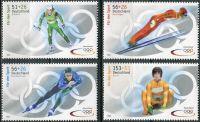 (2002) MiNr. 2237 - 2240 ** - Německo - Zimní olympijské hry, Salt Lake City