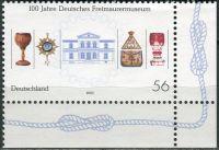 (2002) MiNr. 2247 ** - Německo - 100 let německé zednářské muzeum, Bayreuth