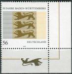 (2002) MiNr. 2248 ** - Německo - 50 let Baden-Württemberg