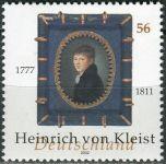 (2002) MiNr. 2283 ** - Německo - 225. narozeniny Heinricha von Kleista