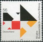 (2002) MiNr. 2287 ** - Německo - 50 let Federální agentura pro občanské vzdělávání