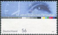 (2002) MiNr. 2288 ** - Německo - 50 let německé televize
