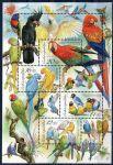 (2004) A 409-412 ** - 2 * VV + vych. P.O. - Chov papoušků