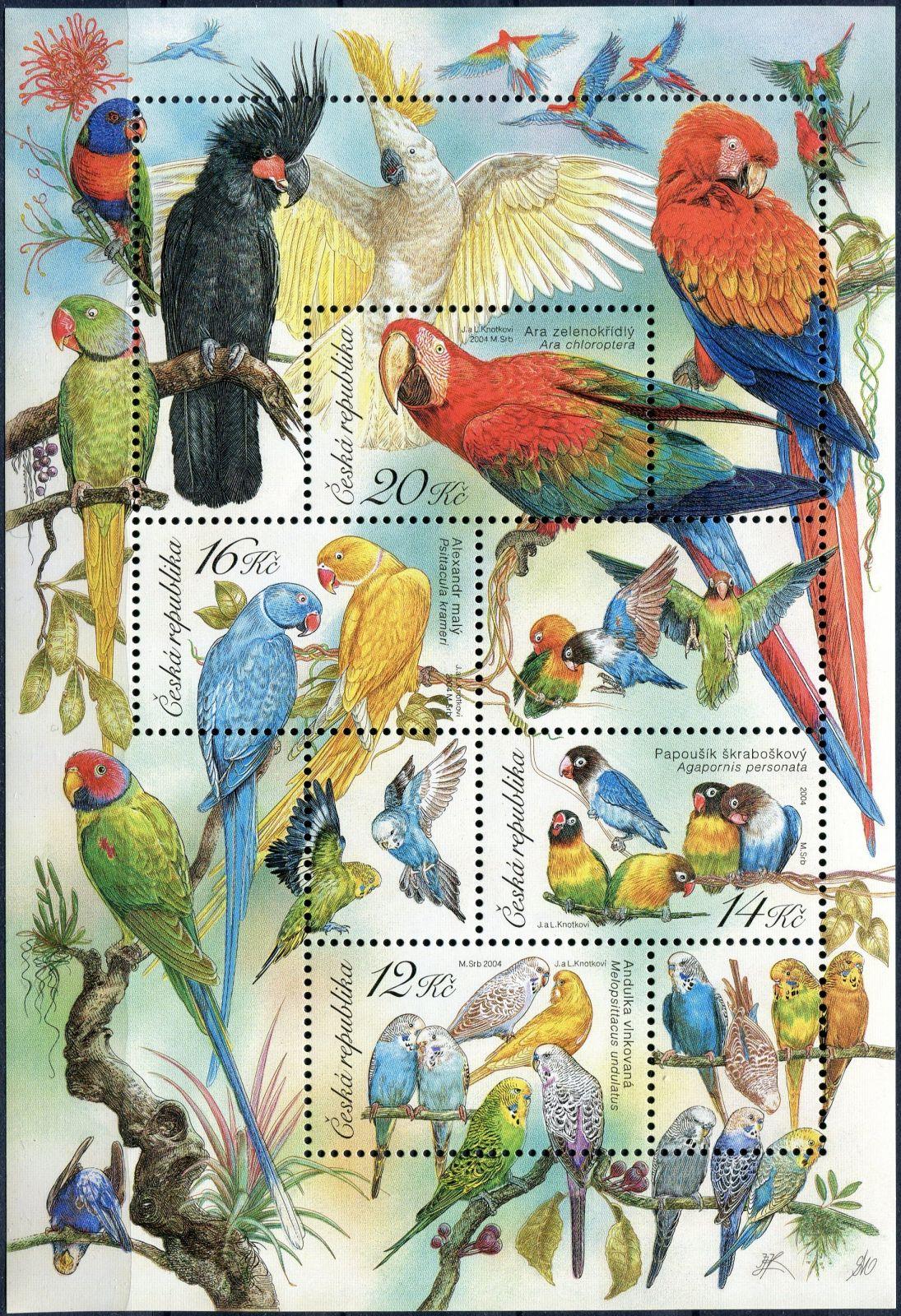 A 409 - 412 - Chovatelství - papoušci