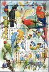 (2004) A 409-412 ** - VV - Chov papoušků - skvrna za hlavou