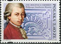 (2006) MiNr. 4229 ** - Polsko - 250. narozeniny W. A. Mozarta