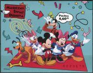 (2013) MiNr. 4608 B ** - Polsko - BLOCK 214 - Walt Disney postavy - neperforovaná