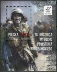 (2014) MiNr. 4691 ** - Polsko - BLOCK 229 - 70. výročí Varšavského povstání