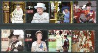 (2015) MiNr. 2053 - 2060 ** - Královna Alžběta II.