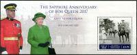 (2017) MiNr. 2229 ** - BLOCK 114 - Královna Alžběta II.
