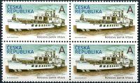 (2018) č. 973 ** - A - Česká republika - 4-bl - Parník Vltava