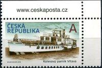 (2018) č. 973 ** - A - Česká republika - Parník Vltava