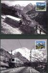 (2018) CM 2534 - 2535 ** - Švýcarsko - 125 let železnice Schynige-Platte-Bahn