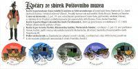(2018) VZ 652 - 656 ** - Česká republika - Vlastní známky - Praga 2018 - Poštovní dostavníky