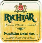 Hlinsko v Čechách - pivovar Hlinsko - Rychtář - Prvotřídní české pivo...