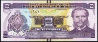 Honduras - (P 97) 2 LEMPIRAS (2012) - UNC