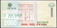 Kolumbie (P 457u) - 2000 Pesos (28.8.2013) - UNC