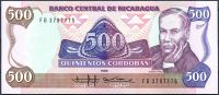 Nikaragua (P 155) - 500 Cordobas (1985) - UNC