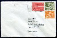 Obálka Švýcarsko - raz. 8.IX.1958 - zaslaná do Německa