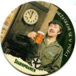 Praha - pivovar - Staropramen - Nezasekni se v práci
