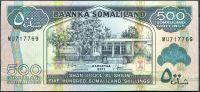 Somaliland - (P 6h) 500 Shillings (2011) - UNC