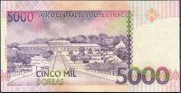 Sv. Tomáš a Princův ostrov - (P 65a)  5000 Dobras (1996) - UNC