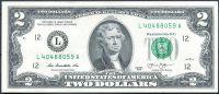 USA - P 538 - 2 dollars (L 12 - San Francisco) 2013 série - UNC