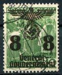 (1938) MiNr. 20 - O - Generalgouvernement - Přetisk na polské známky