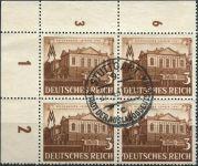 (1941) MiNr. 764 - O - Deutsches Reich - 4-bl - Leipzig jarní veletrh