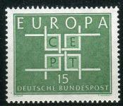 (1963) MiNr. 406 ** - Německo - Europa
