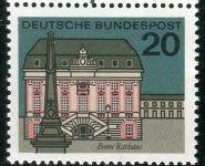 (1964) MiNr. 424 ** - Německo - Hlavní města Spolkové republiky Německo - Bonn
