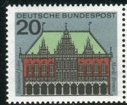 (1964) MiNr. 425 ** - Německo - Hlavní města Spolkové republiky Německo - Bremen